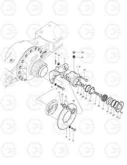 3390 PARKING BRAKE-SUPER MAX. TRAC TXL400-1, Doosan