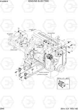 2040 ENGINE ELECTRIC R140W-9, Hyundai