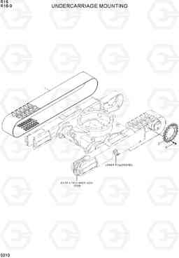 5010 UNDERCARRIAGE MOUNTING R16-9, Hyundai