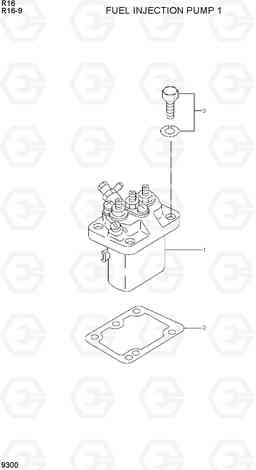 9300 FUEL INJECTION PUMP 1 R16-9, Hyundai