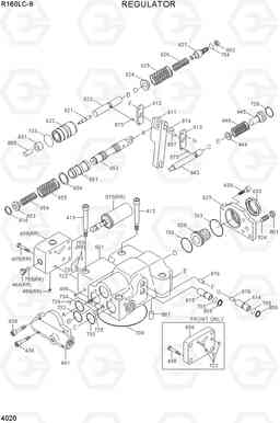 4020 REGULATOR R160LC-9, Hyundai
