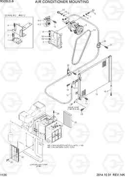 1120 AIR CONDITIONER MOUNTING R320LC-9, Hyundai